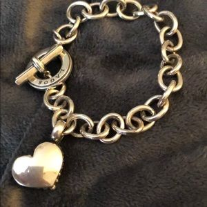 Lagos - Sterling Silver Toggle Bracelet with Heart